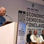 President of India Inaugurates Economic Democracy Conclave 2018