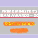 Prime Minister's Shram Award for 2016