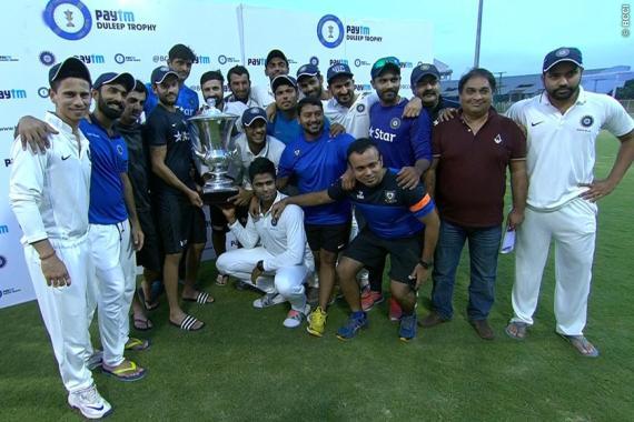 India Blue Wins Duleep Trophy