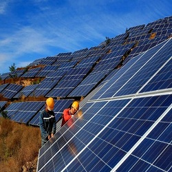 China leads world in solar power production