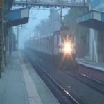 Budhni-Indore electrified rail line