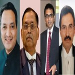 Appointment of four new judges of the Supreme Court