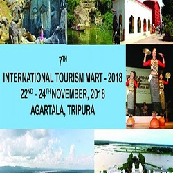 7th International Tourism Mart to be held in Agartala, Tripura