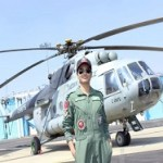 1st Indian woman flight engineer
