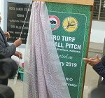 Nagaland gets first Astro turf football pitch