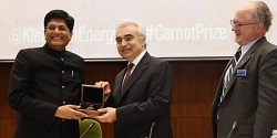 Klienman Centre for Energy Policy at the University of Pennsylvania awards 4th annual Carnot Prize