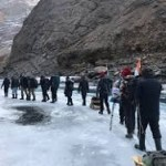 Chadar trek expedition by Air Force Station,Thoise