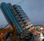 Taiwan Is Hit by Powerful Earthquake