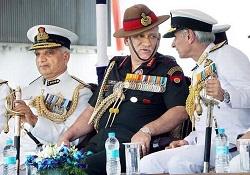 General Bipin Rawat Commissions ICG Ship Veera