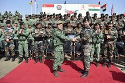 India Singapore Joint Military Exercise