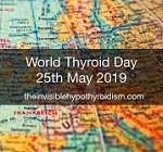 World Thyroid Day - 25th May, 2019