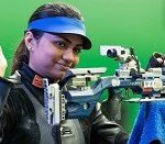 World number one in 10 m air rifle