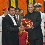 Justice Raghvendra Singh Chauhan sworn-in as Chief Justice of Telangana High Court