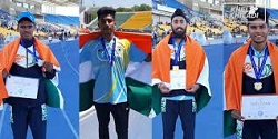 Indian juniors claim six gold medals in Eurasian Athletics