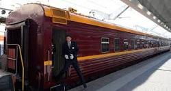 First Arctic Train Service