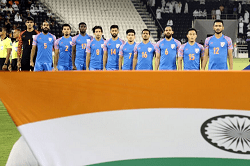 fifa ranking india 104th place