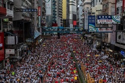 Hong Kong extradition bill issue
