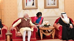PM Modi holds talks with King of Bahrain