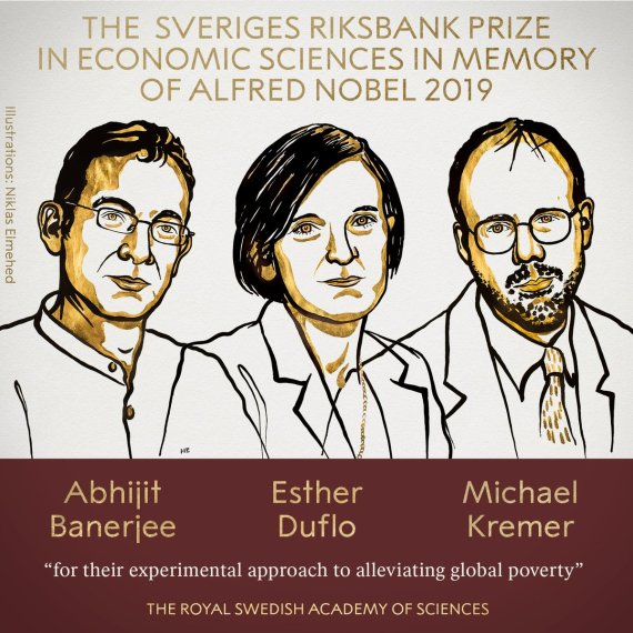 The Sveriges Riksbank Prize in Economic Sciences in Memory of Alfred Nobel 2019