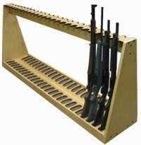 Wooden vertical gun rack plans Diy ~ Adam kaela