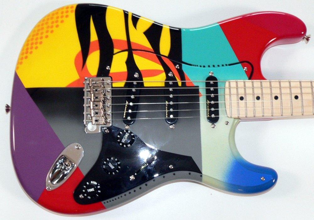 medium resolution of eric clapton crashocaster fender guitar