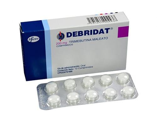 Debridat Trimebutine Dosage