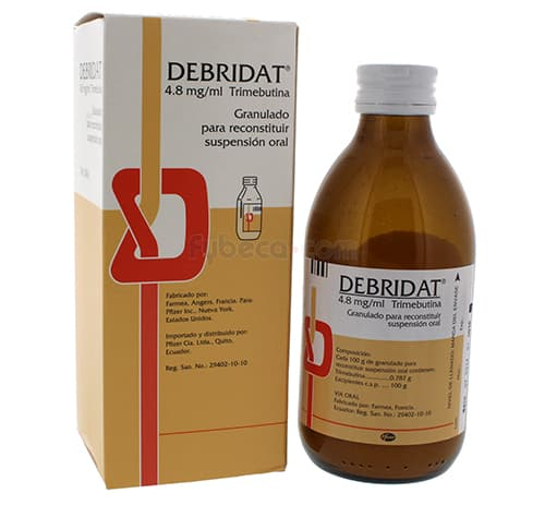Debridat Trimebutine Side Effects