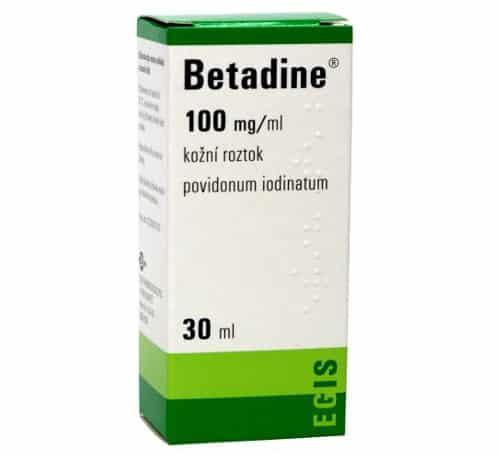 Betadine Warnings and Precautions