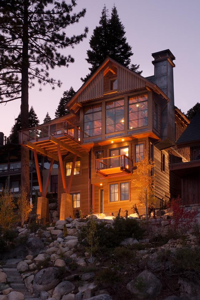 Schweichler Residence  Custom Residential Interior Design Lake Tahoe  Environmental Design