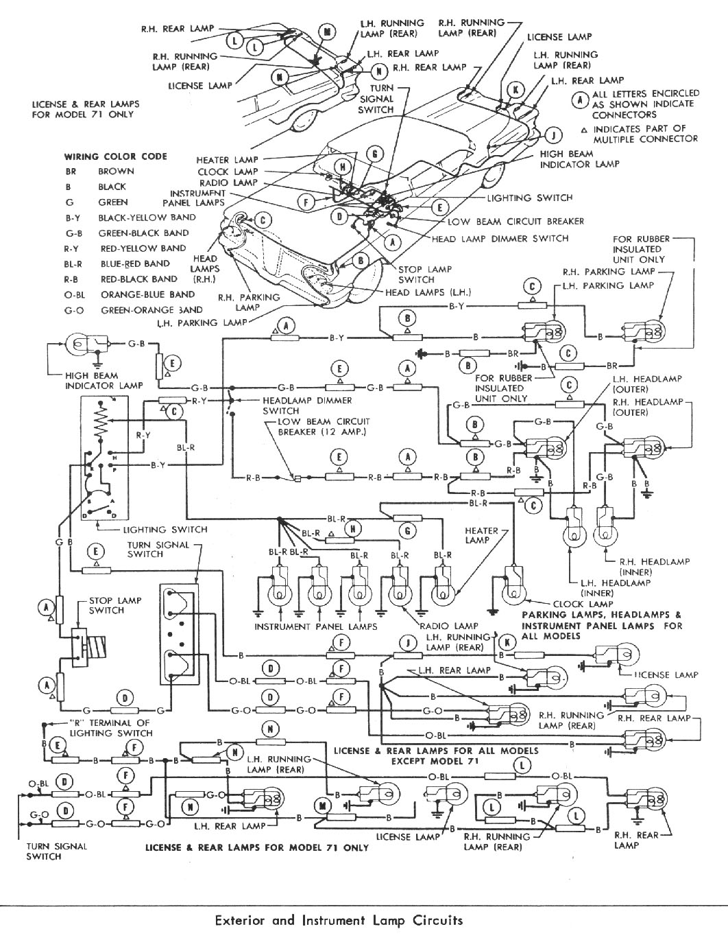 windows wiring diagram of 1958 edsel