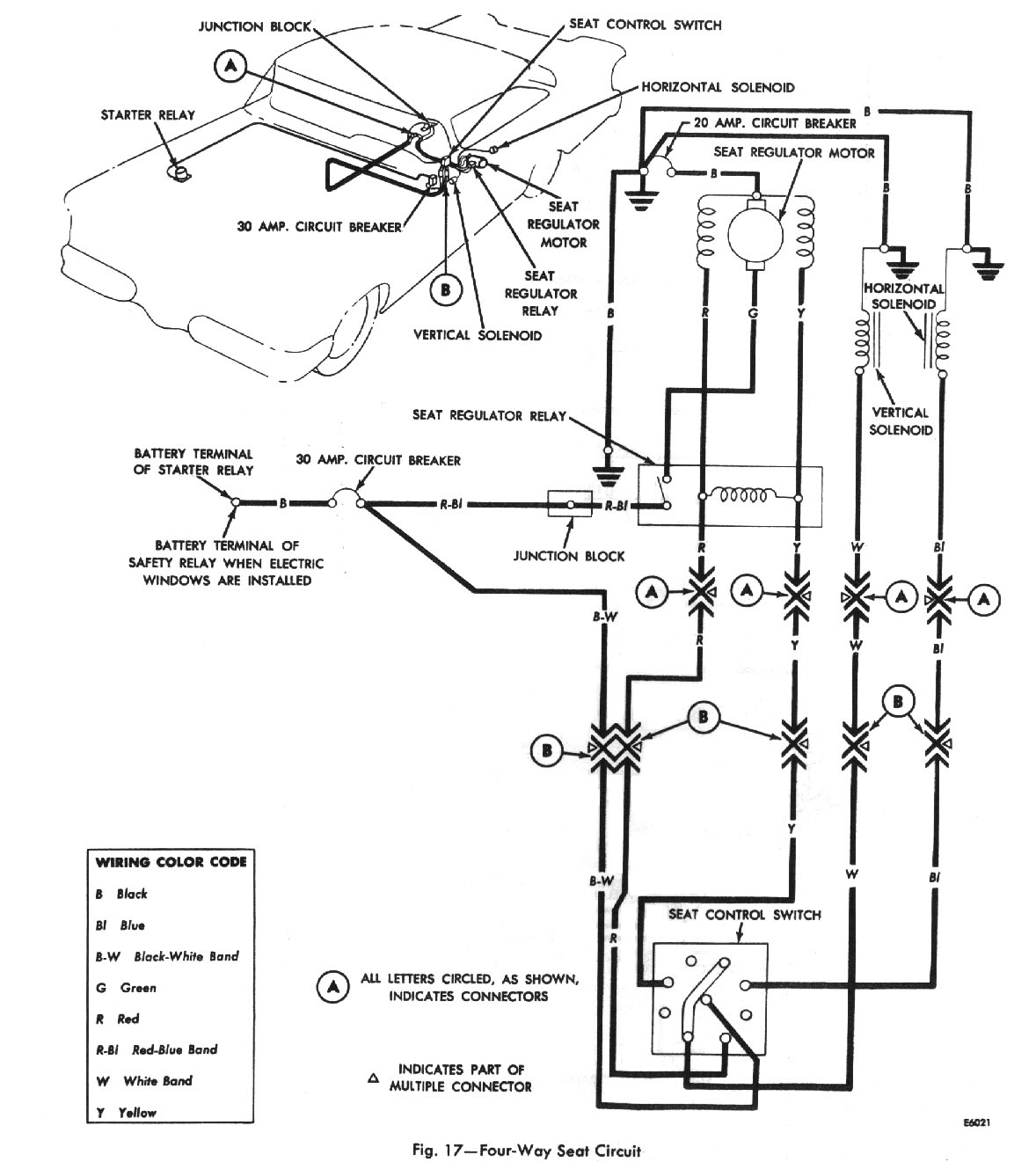 hight resolution of four way seat circuit wiring diagram