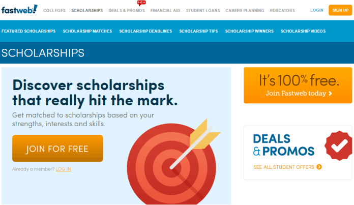 best_college_scholarships_websites_fastweb