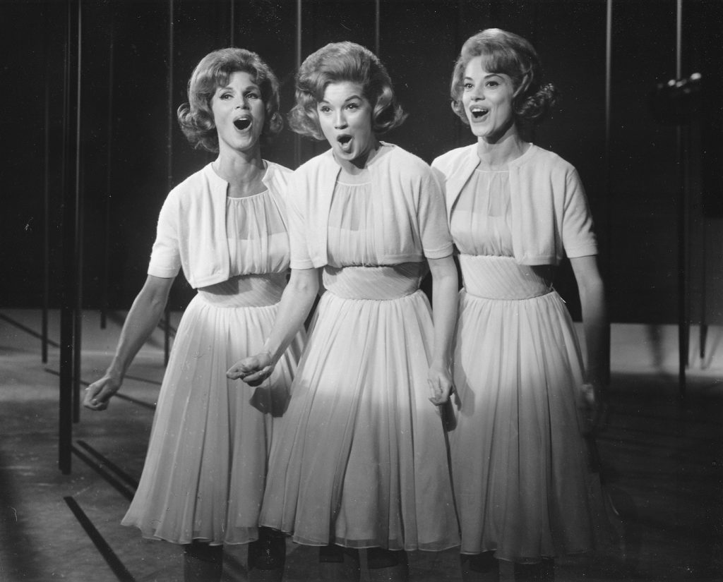 Indecency with children act, 1960 1. The McGuire Sisters on The Ed Sullivan Show - Ed Sullivan Show