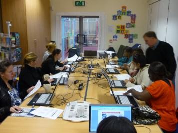 ECDL students Anfield Children's Centre