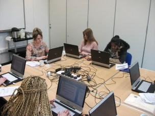 Word Processing course at Tuebrook Children's Centre