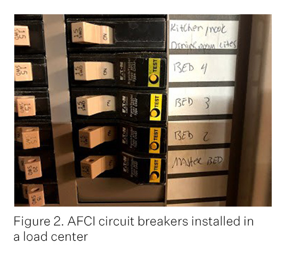 Test Circuit For An Afci Gfci Circuit Breaker Google Patents