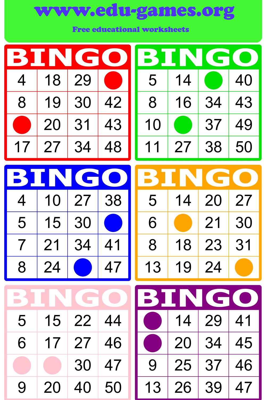 medium resolution of Math Bingo   Free Printable PDF Math Bingo Cards