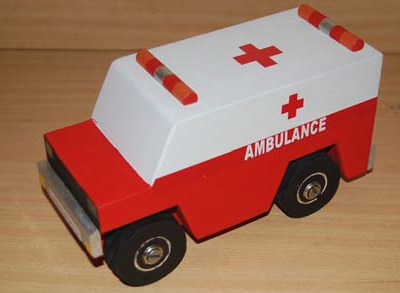 Small Ambulance Truck