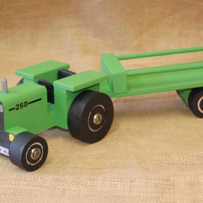 260 Tractor JD Green