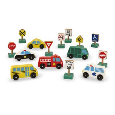 Vehicles and Traffic Signs