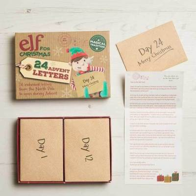 Advent Letter Set, Unique Christmas Advent Calendar Idea - First Edition