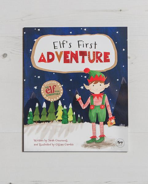Elf's First Adventure Story Book