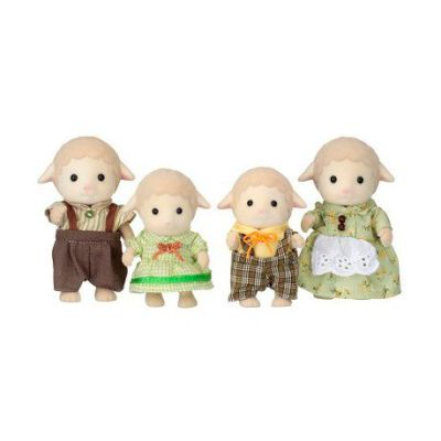 Sylvanian Family 4 Sheep Family