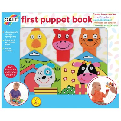 First Puppet Book - Galt