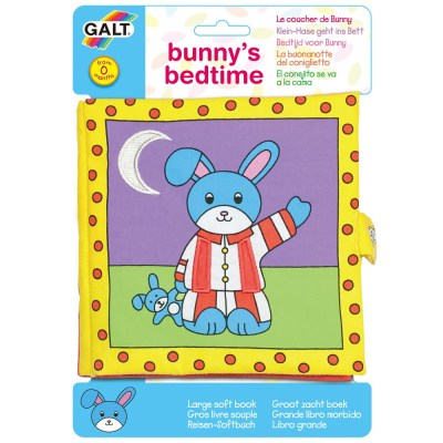 Large Soft Book - Bunny's Bedtime - Galt