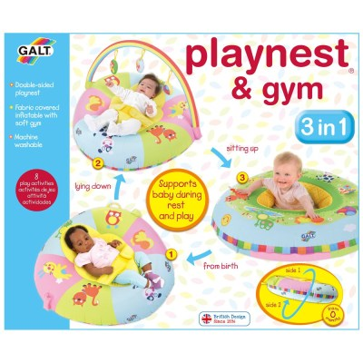 Playnest & Gym 3-in-1 - Galt