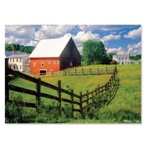 Peaceful Farm Cardboard Jigsaw