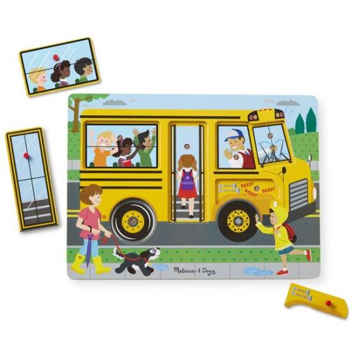 The Wheels on the Bus Sound Puzzle