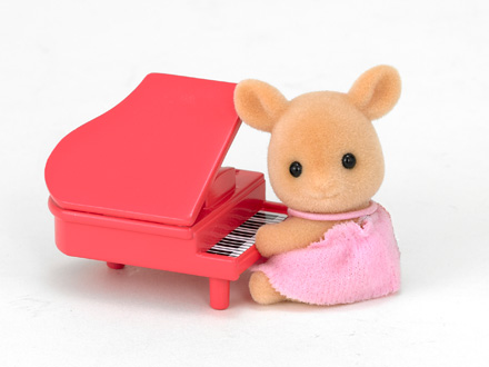 Deer Baby with Piano