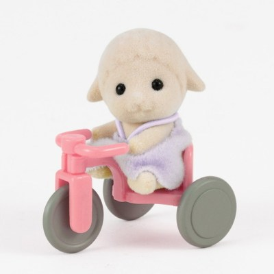 Sheep Baby with Tricycle